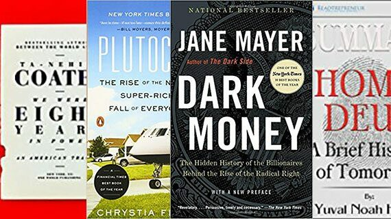A New Year's reading list for the 99.09 per cent