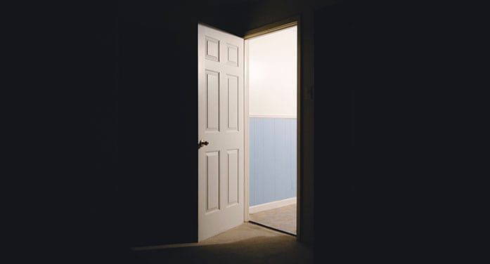 When opportunity knocks, answer the door
