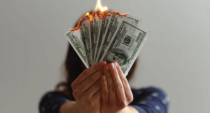 american money burn tax