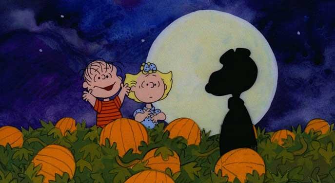 great pumpkin charlie brown peanuts halloween classic tv cartoons